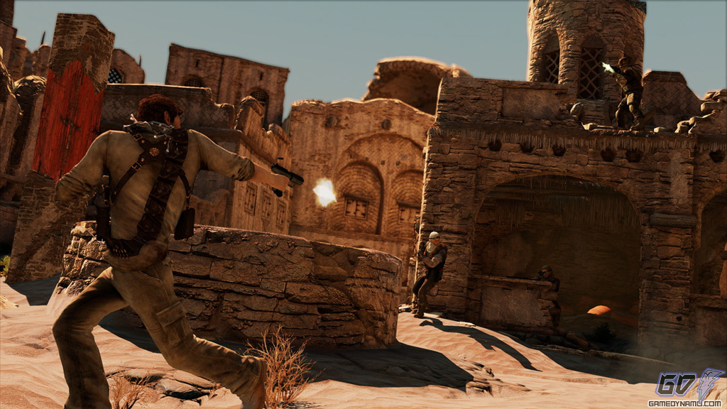 Uncharted 3: Drake's Deception desert screenshots 1 (PS3)
