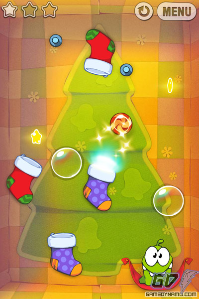 cut the rope christmas game