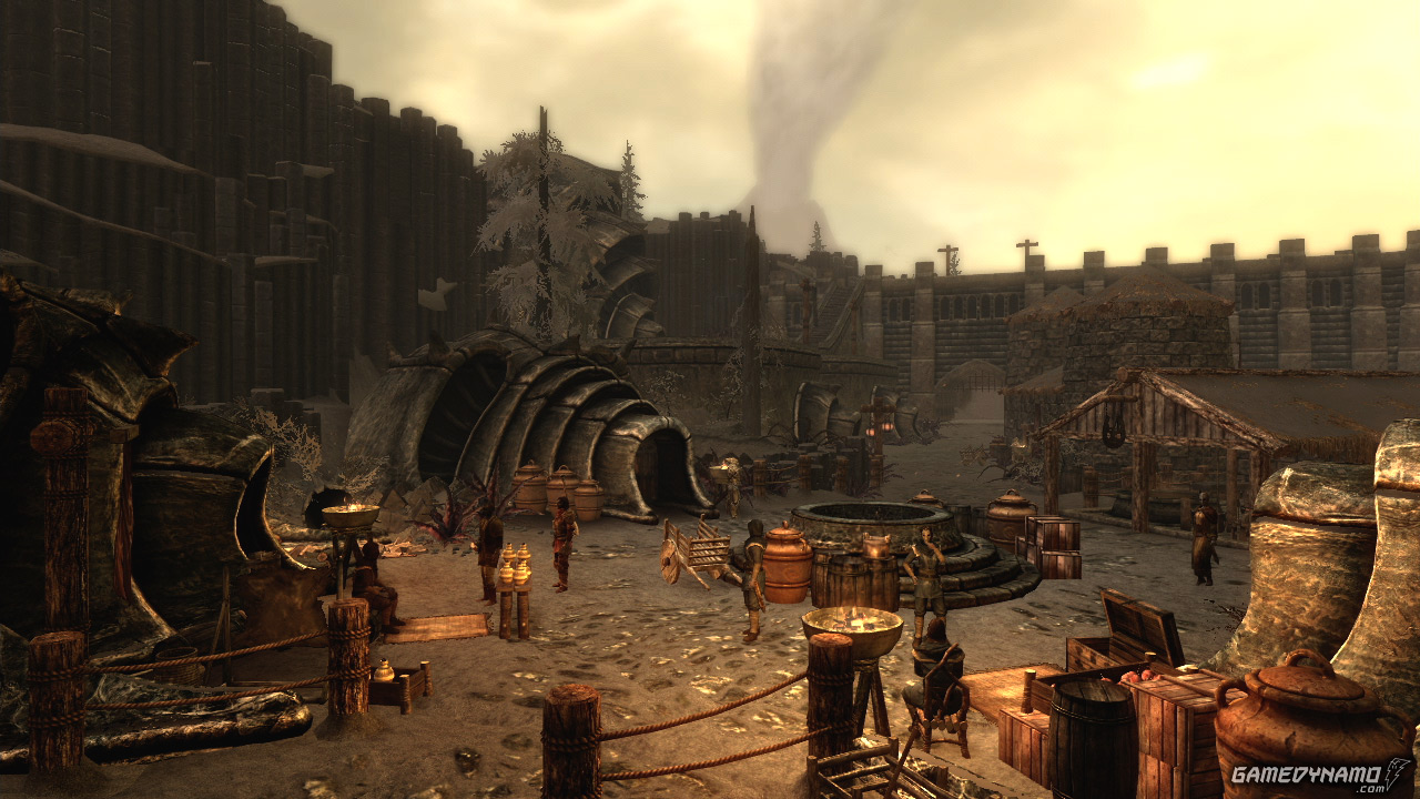 The coast of Morrowind beckons in The Elder Scrolls V: Skyrim - Dragonborn screenshots