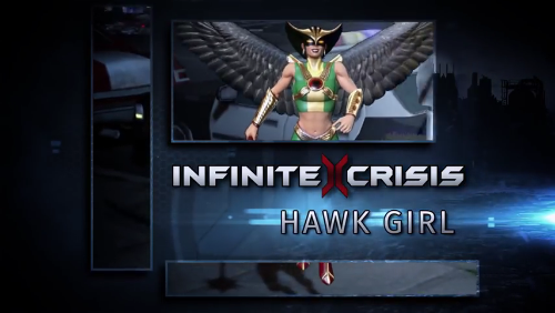 Champion Unmasked: Hawk Girl
