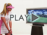 PlayStation Move Demo with Paula Creamer