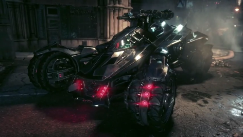 Batmobile Battle Mode Reveal