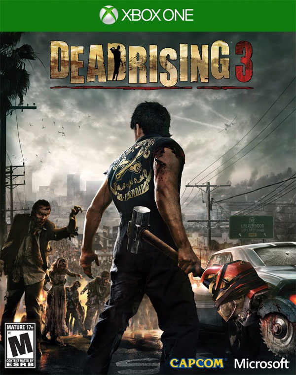 Dead rising 3 combo weapons guide gamedynamo dead rising 3 box art malvernweather Gallery