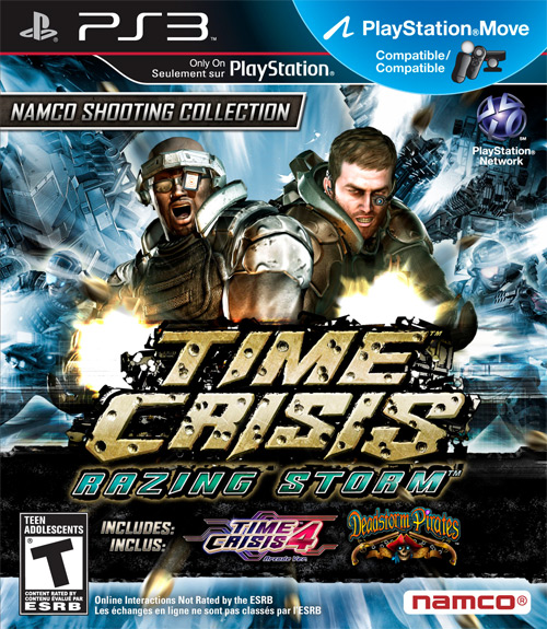 Shooter Games For Ps3 : Time crisis razing storm playstation review gamedynamo