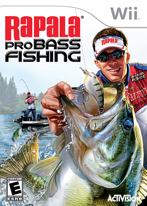 Rapala pro bass fishing nintendo wii gamedynamo for Wii fishing games
