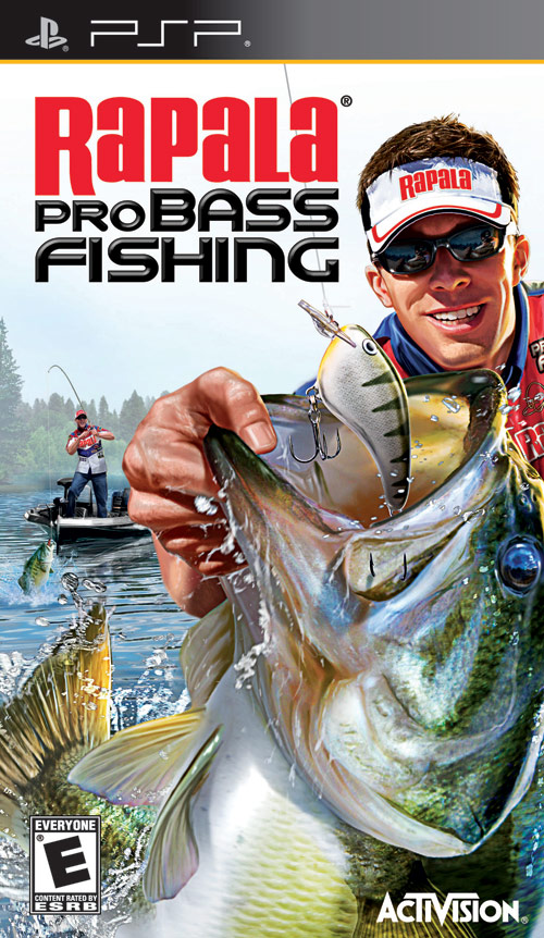Rapala pro bass fishing sony psp gamedynamo for Wii u fishing game