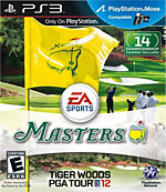 Tiger Woods PGA Tour 12: The Masters Box Art