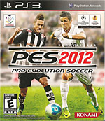 Pro Evolution Soccer 2012 Box Art