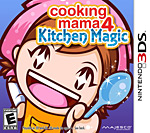 Cooking Mama 4: Kitchen Magic Box Art