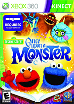 Sesame Street: Once Upon a Monster Box Art
