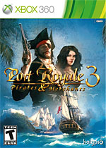 Port Royale 3: Pirates & Merchants Box Art