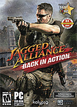 Jagged Alliance: Back in Action Box Art