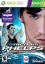 Michael Phelps: Push the Limit Box Art
