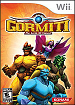 Gormiti: The Lords of Nature! Box Art