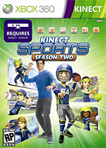 Kinect Sports: Season Two Box Art