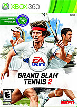 Grand Slam Tennis 2 Box Art