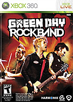 Green Day: Rock Band Box Art