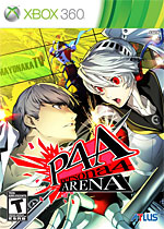 Persona 4: Arena Box Art