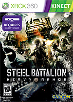 Steel Battalion: Heavy Armor Box Art