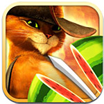 Fruit Ninja: Puss in Boots Box Art