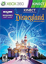 Kinect Disneyland Adventures Box Art