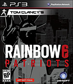 Tom Clancy's Rainbow 6 Patriots Box Art