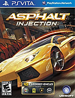 Asphalt: Injection Box Art