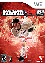 MLB 2K12 Box Art