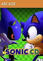 Sonic CD Box Art