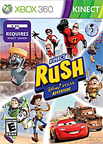 Kinect Rush: A Disney Pixar Adventure Box Art