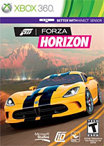 Forza Horizon Box Art