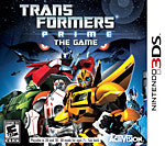 Transformers Prime: The Game Box Art