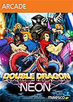 Double Dragon: Neon Box Art