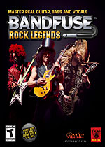 BandFuse: Rock Legends Box Art