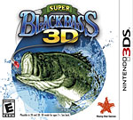 Super Black Bass 3D Box Art