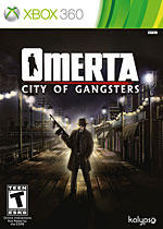 Omerta: City of Gangsters Box Art