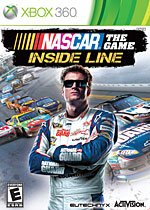 NASCAR The Game: Inside Line Box Art