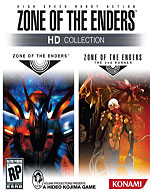 Zone of the Enders HD Collection Box Art