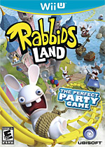 Rabbids LAND Box Art