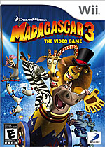 Madagascar 3: The Video Game Box Art