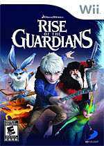 Rise of the Guardians: The Video Game Box Art