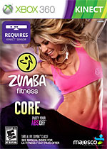 Zumba Fitness Core Box Art