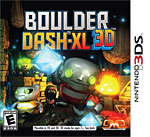 Boulder Dash-XL 3D Box Art