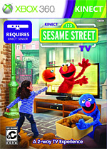 Sesame Street TV Box Art