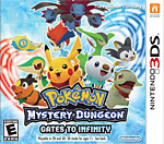 Pokémon Mystery Dungeon: Gates to Infinity Box Art