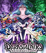 Darkstalkers Resurrection Box Art