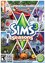 The Sims 3: Seasons Box Art