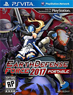 Earth Defense Force 2017 Portable Box Art