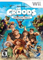 The Croods Prehistoric Party! Box Art