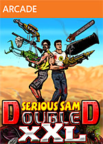 Serious Sam Double D XXL Box Art
